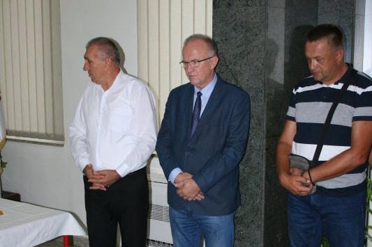 "Служен парастос погинулим борцима  ЗП ""Електрокрајина"" Бања Лука"